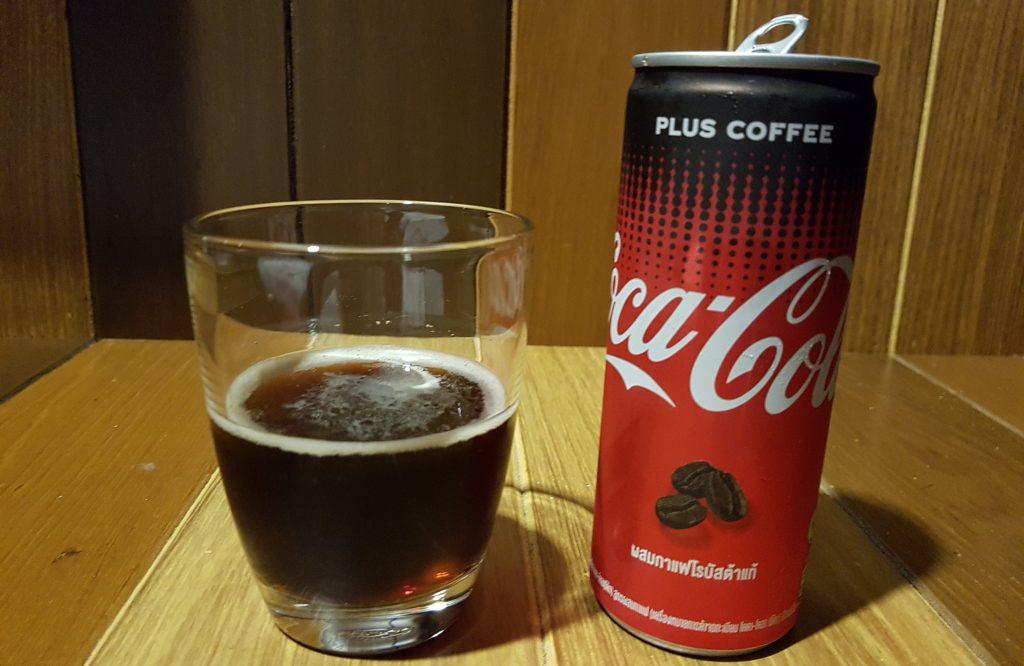 פחית קוקה קולה עם קפה בתאילנד
