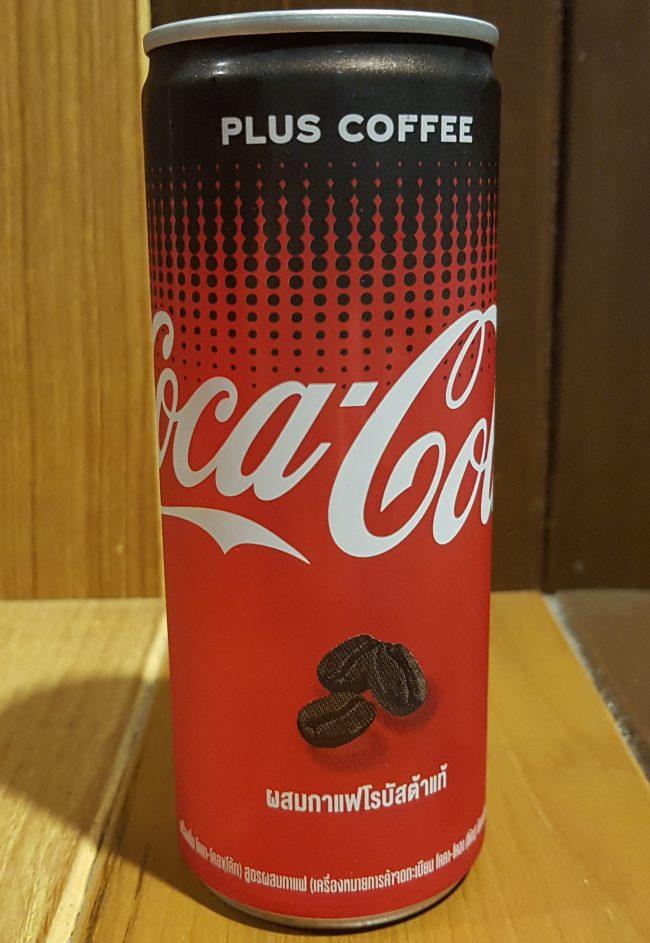 פחית Coca Cola Plus Coffee בתאילנד