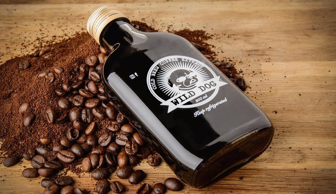 בקבוק קפה קולד ברו של Wild Dog Cold Brew