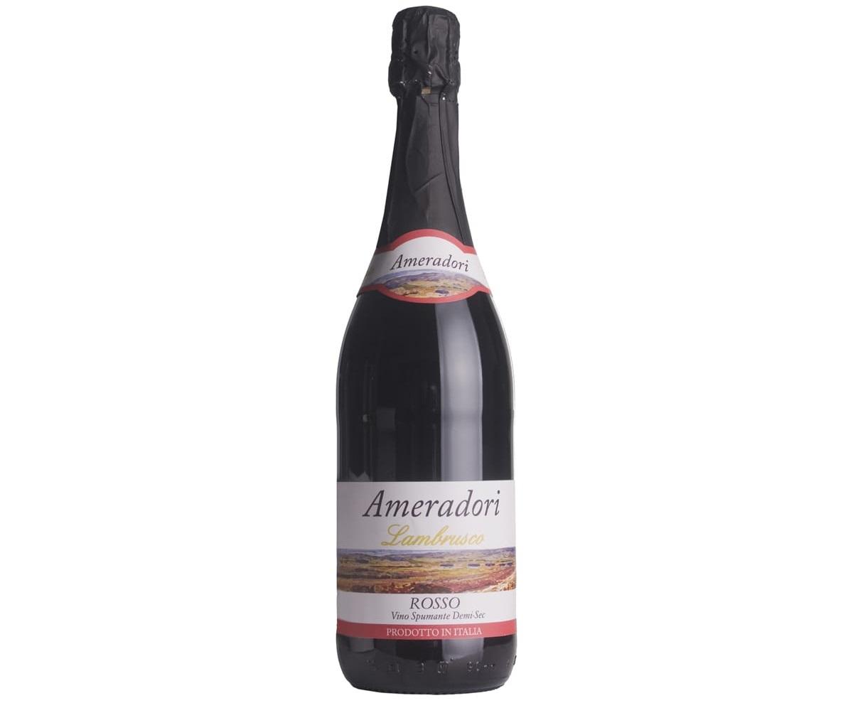 בקבוק למברוסקו אדום של Ameradori