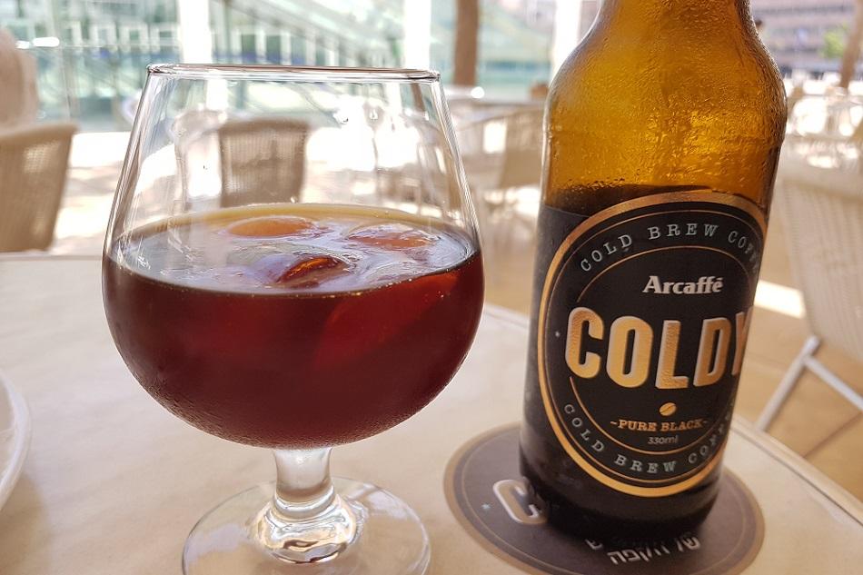 קפה Coldy בחליטה קרה של ארקפה
