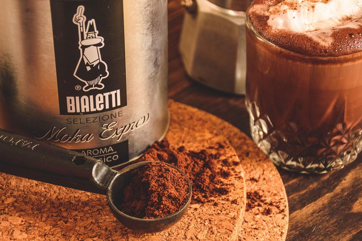 קפה טחון של ביאלטי. צילום: P.O.sitive Negative