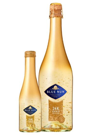 בקבוק בלו נאן זהב 24K