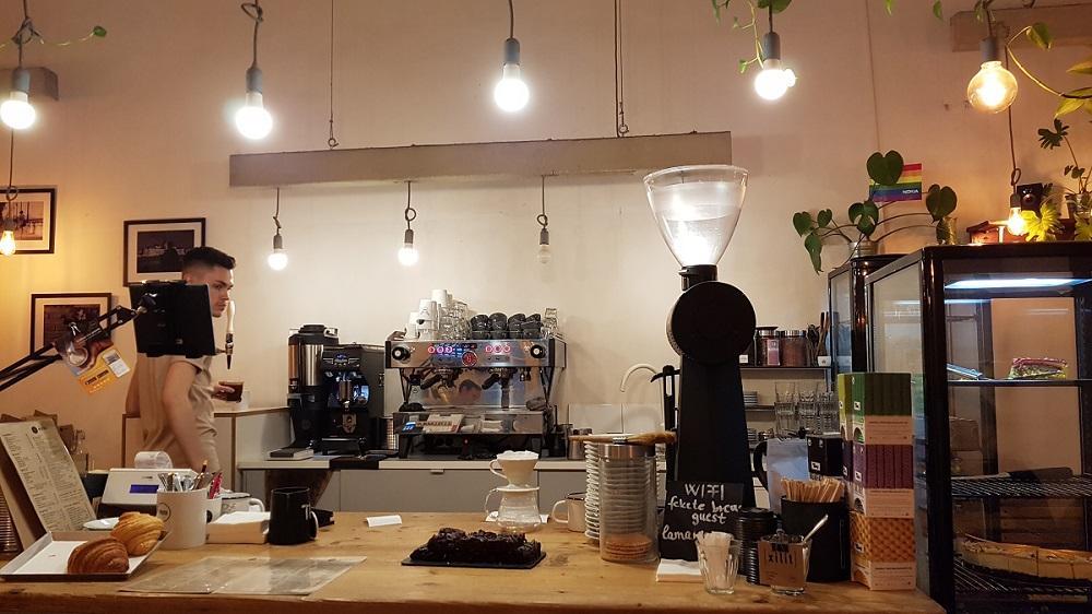בית הקפה fekete בבודפשט