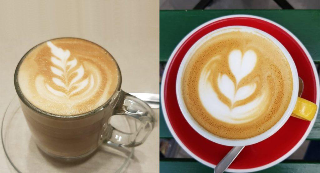 קפה הפוך בכוס זכוכית או בכוס חרס?