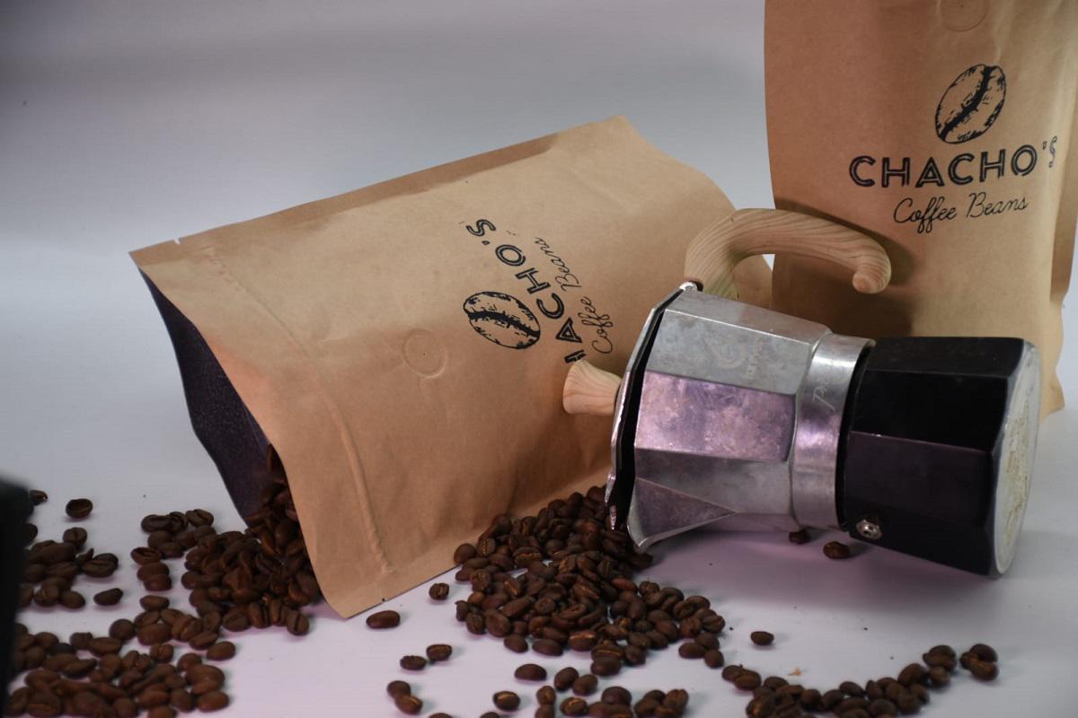 פולי קפה של Chacho's עם מקינטה. צילום: יעקב בלומנטל