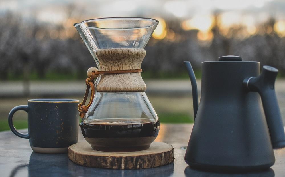 קפה פילטר Chemex של הגל השלישי