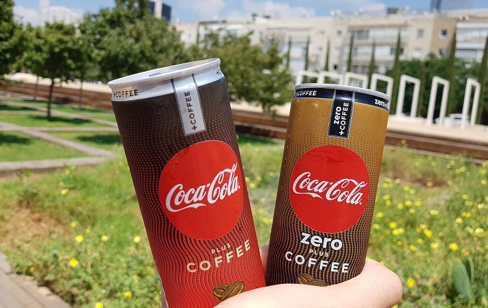 קוקה קולה פלוס קפה רגיל וזירו