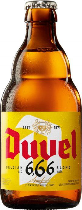 בקבוק בירה Duvel 6.66