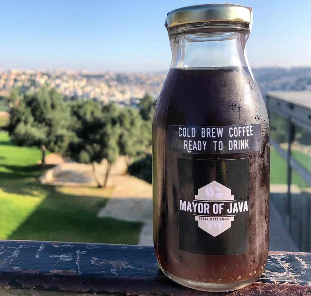 בקבוק קפה קולד ברו Mayor of Java של Erez Coffee Co