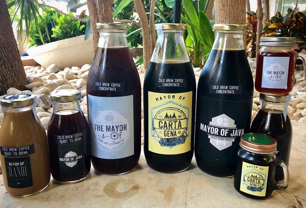מגוון המשקאות של Erez Coffee Company