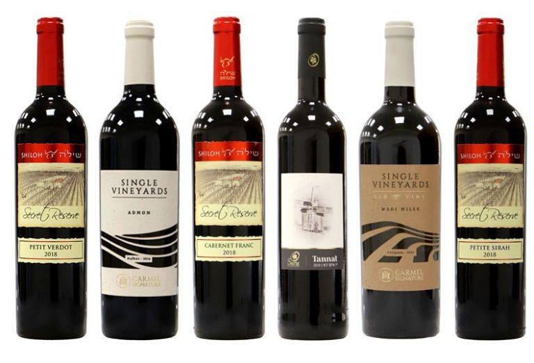 יינות אדומים זוכים בתחרות אשכול הזהב 2021. צילום: Sommelier