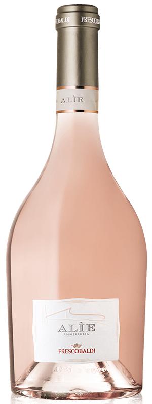 """יין רוזה Alie של יקב Frescobaldi. צילום: יח""""צ חו""""ל"""