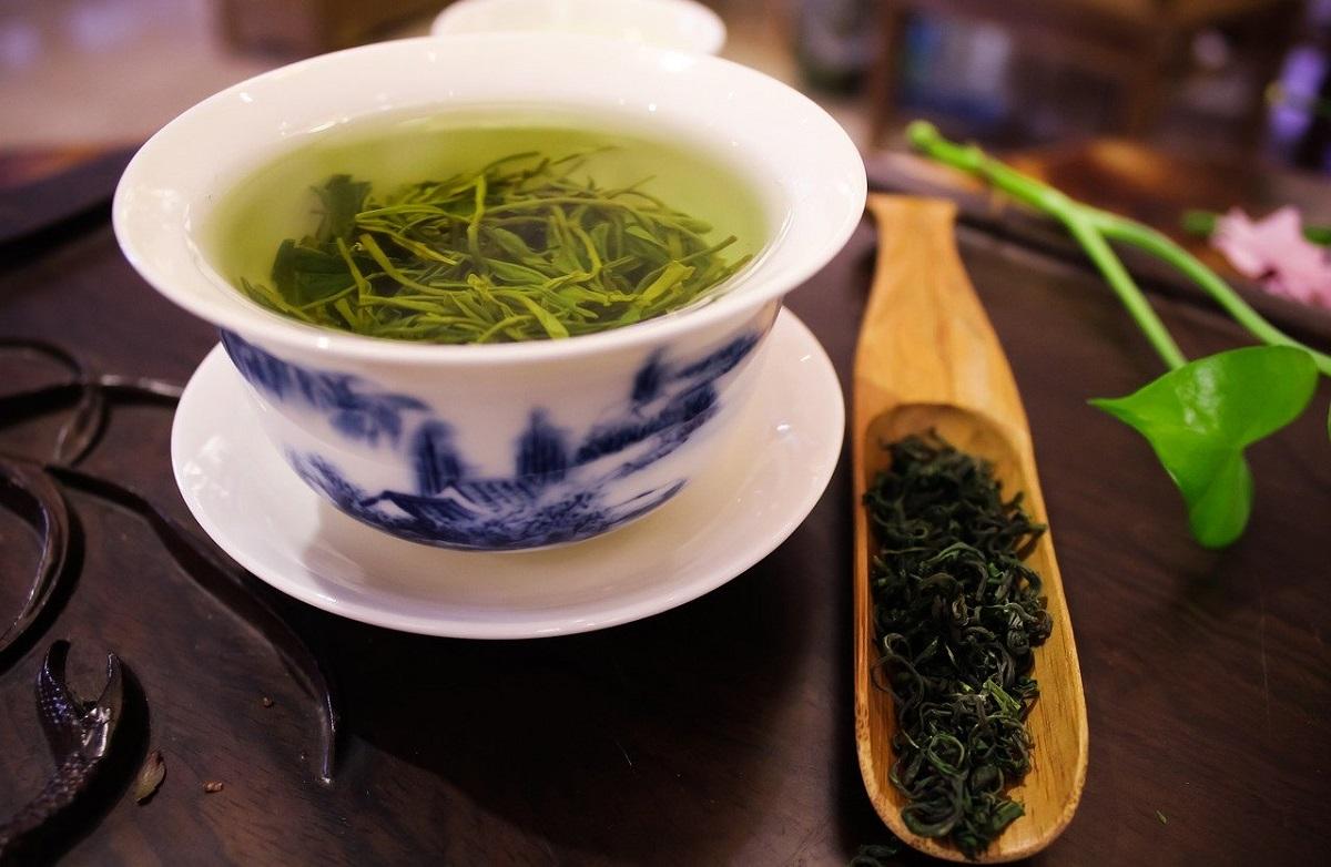 כוס תה ירוק. צילום: apple deng