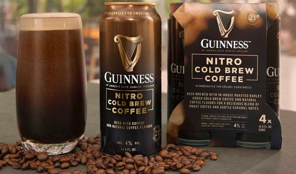 בירה עם קפה קולד ברו של גינס. צילום: Guinness