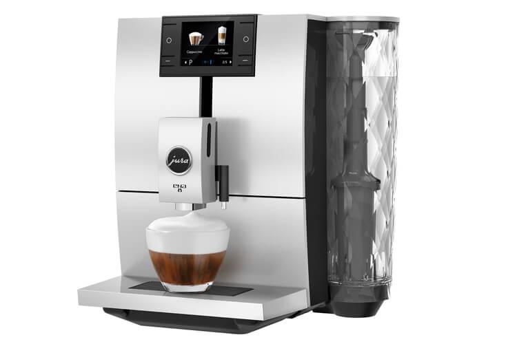 Jura ENA 8 - מכונת קפה אוטומטית עם מטחנה ומקציף חלב