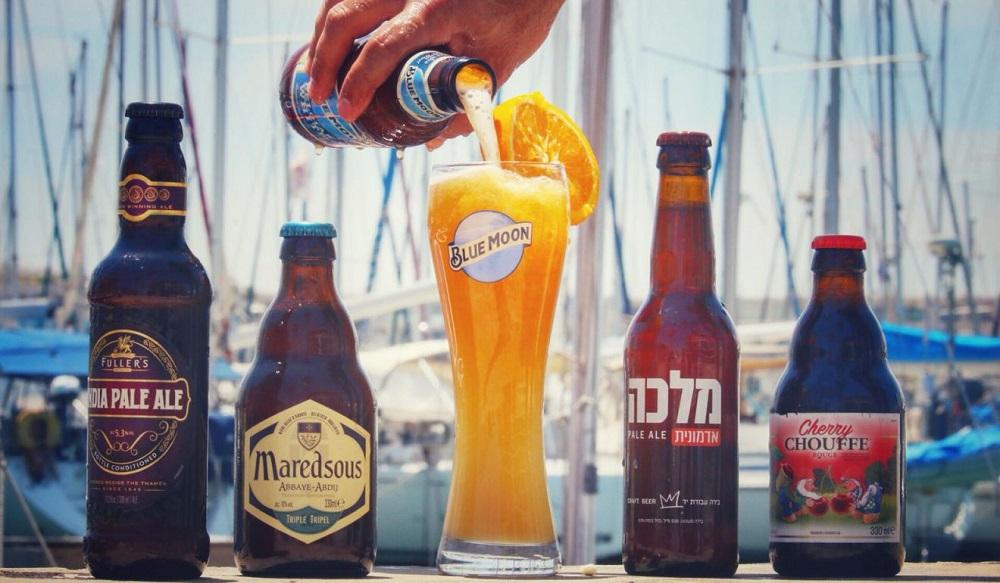 פסטיבל בירה במרינה הרצליה. צילום: בן דאלי