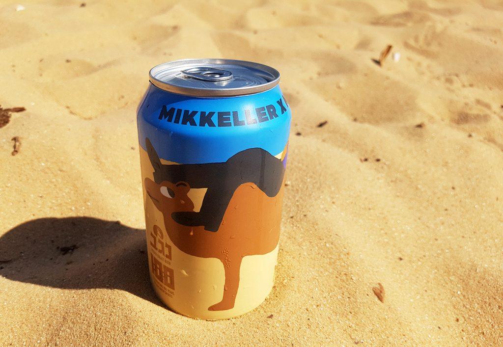 פחית בירה ניו אינגלנד פייל אייל של מיקלר בשיתוף עם בירה נגב. צילום: מגזין שותים