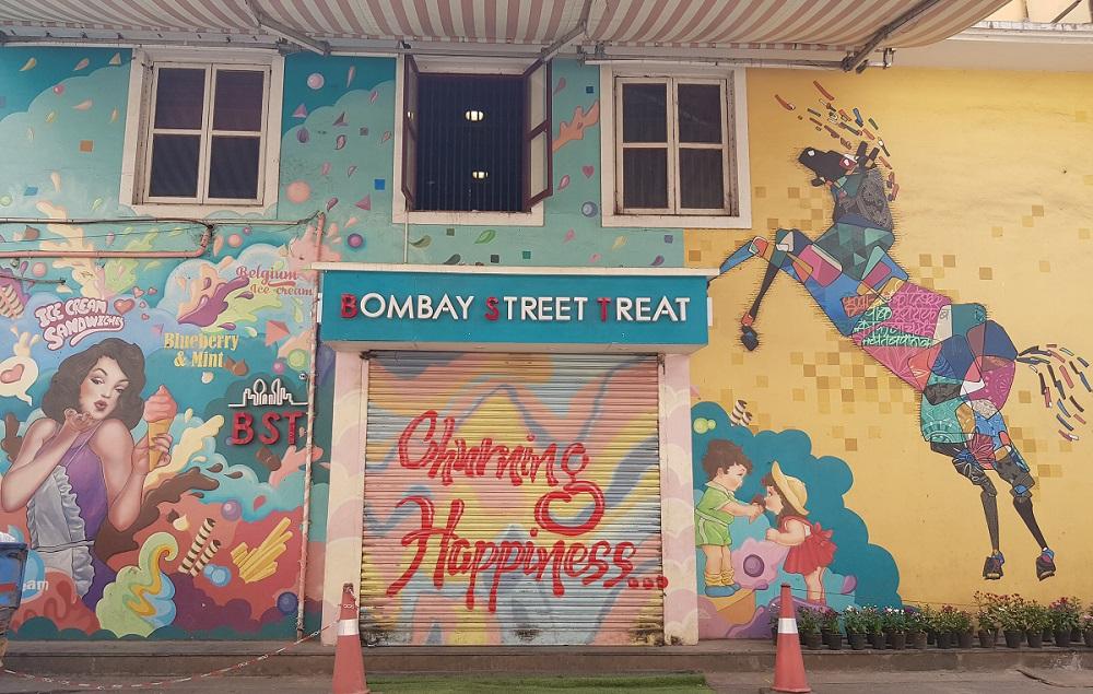 Bombay Street Treat. אומנות רחוב במומבאי