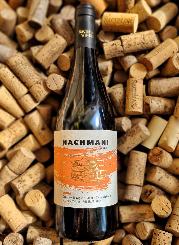 יין אדום שירה 2017 של יקב נחמני. צילום: יקב נחמני