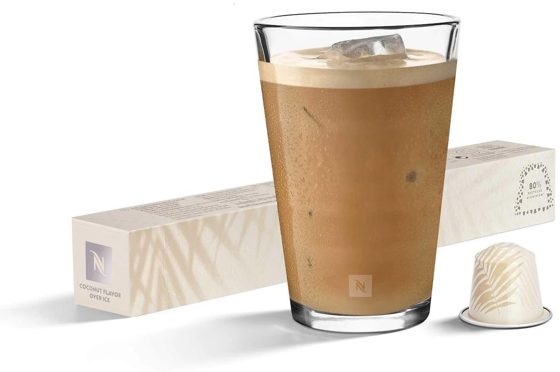 קפה קר נספרסו בטעם קוקוס למכונות אוריג'ינל. צילום: Nespresso
