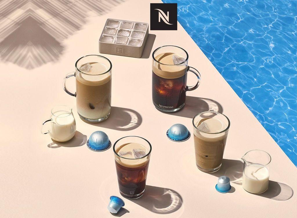 קפה קר נספרסו מהדורת קיץ 2021. צילום: Nespresso