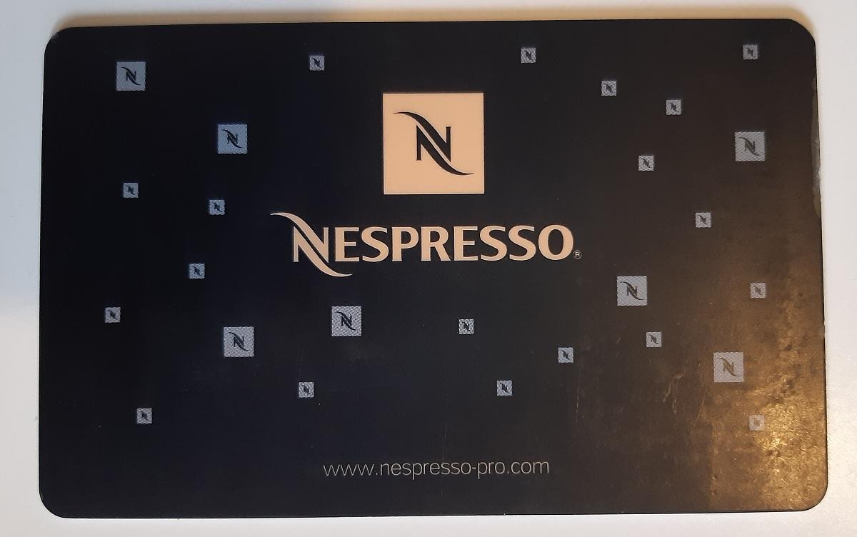 כרטיס חכם של נספרסו. צילום: Polle Vanhoof