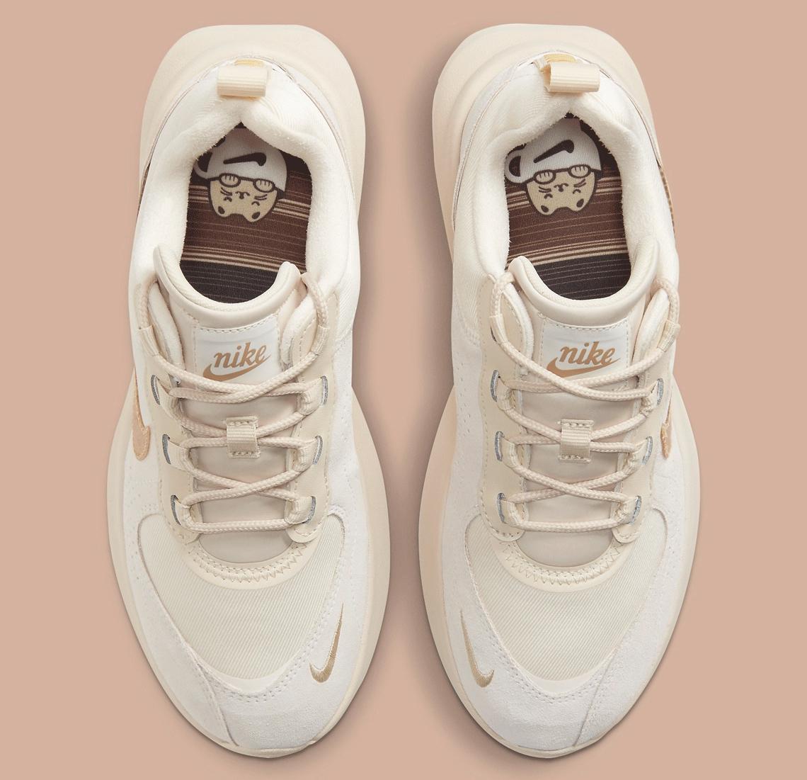 זוג נעלי ספורט נייק אייר מקס ורונה קפה