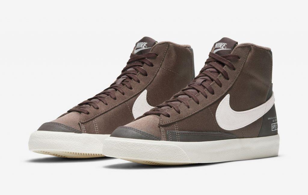 סניקרס נייק Blazer Mid 77' Coffee. צילום: Nike