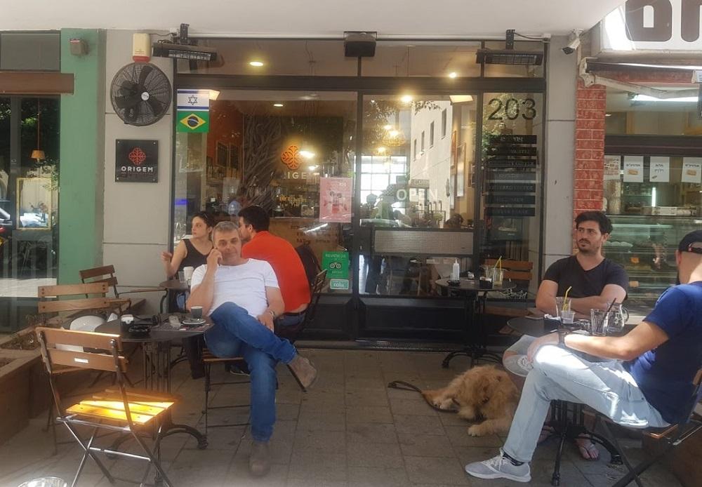 קפה אוריגם דיזנגוף 203 תל אביב. צילום: שותים