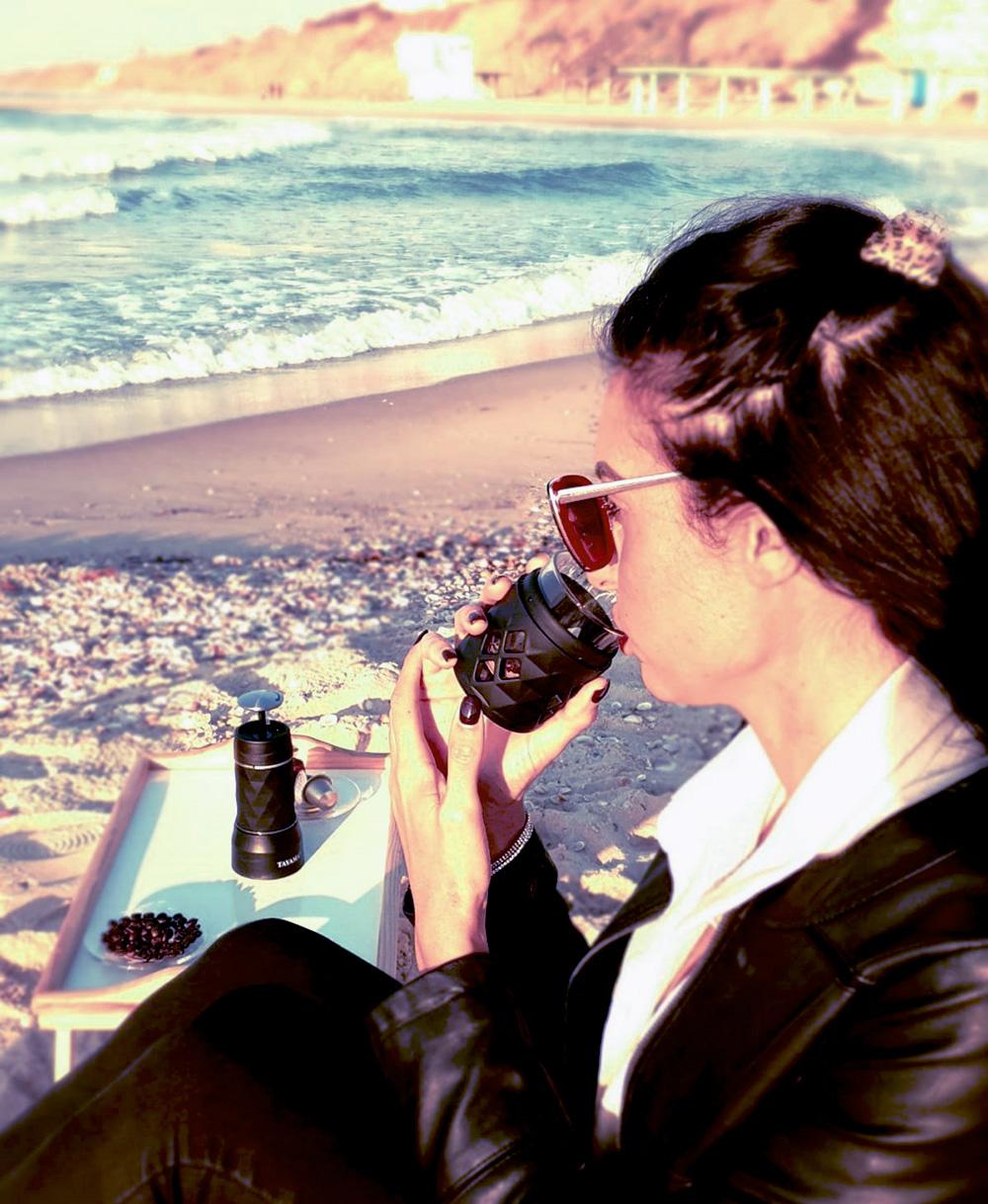 מכונת קפה ניידת לשטח