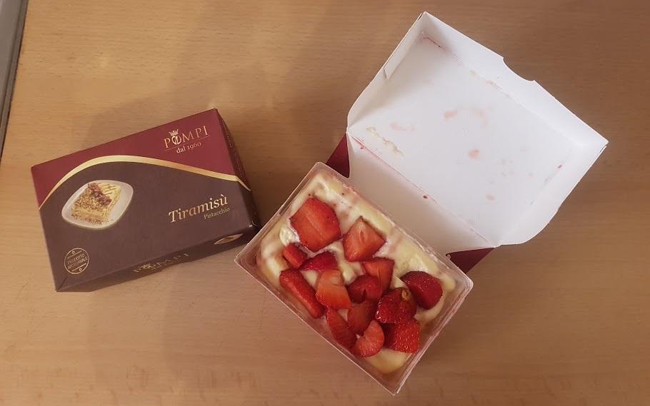 פומפי טירמיסו בטעם תות. צילום: שותים