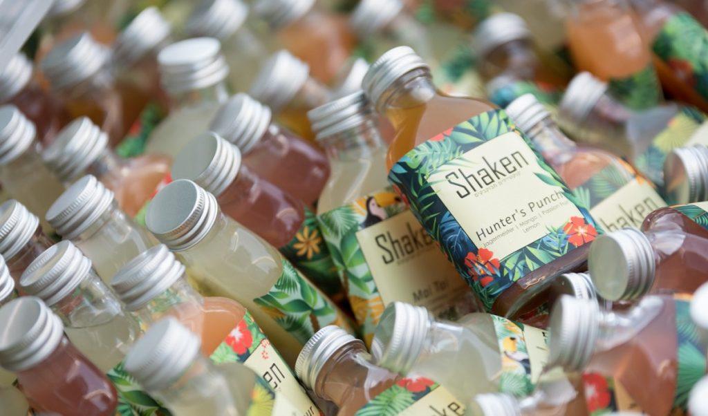 Shaken - קוקטיילים מוכנים בבקבוקים לאירועים