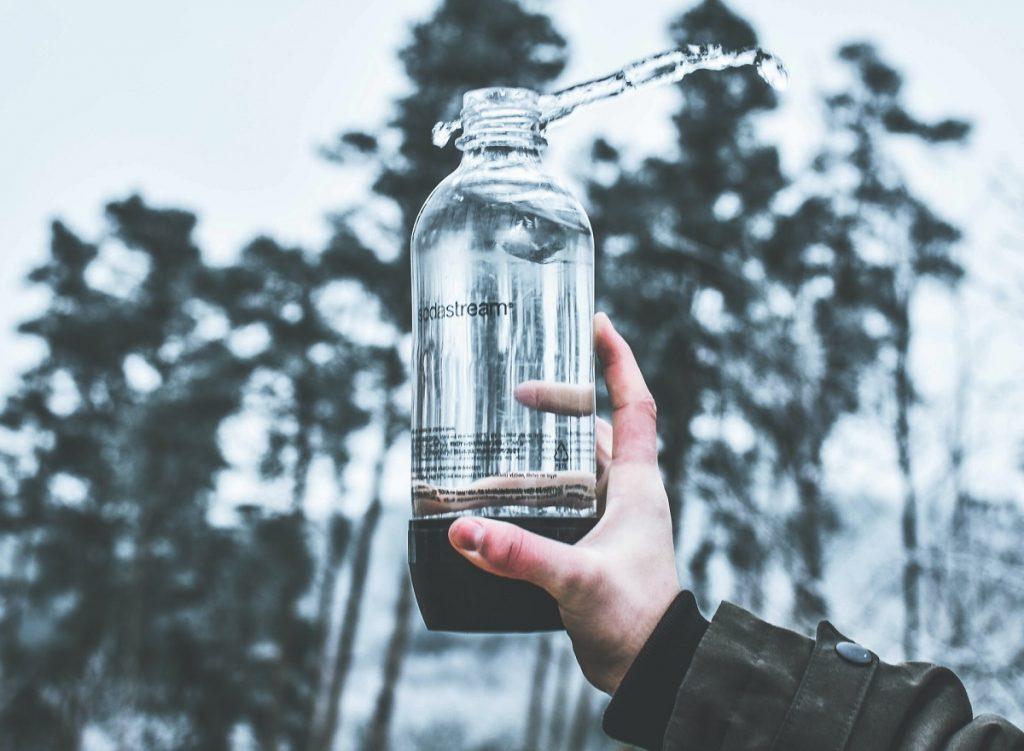בקבוק מים של סודה סטרים. צילום: Miroslav Škopek