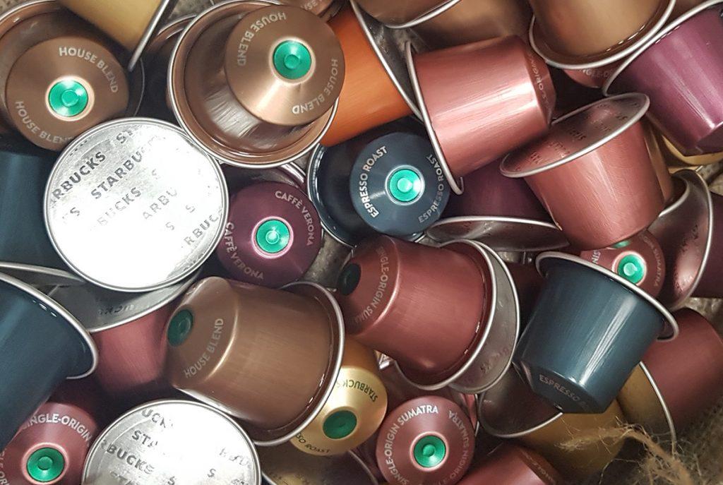קפסולות קפה של סטארבקס למכונות נספרסו