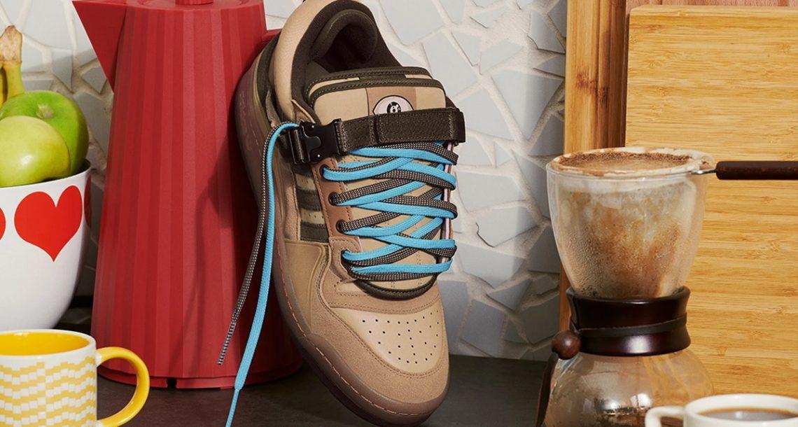 גם אדידס משיקה נעליים בצבעי קפה, בשיתוף פעולה עם הראפר באד באני