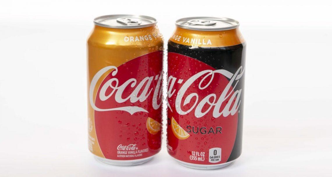 קוקה-קולה משיקה קולה חדשה בטעם וניל-תפוזים