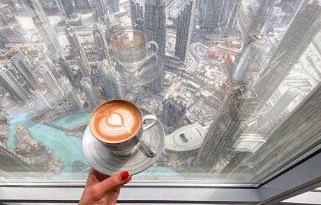 בית הקפה הגבוה בעולם, ועוד 6 בתי קפה בדובאי שאסור לפספס