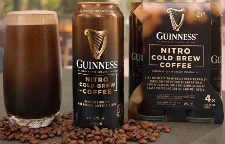 בירה עם קפה: גינס השיקה בירה עם קולד ברו