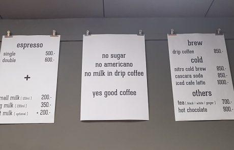 בלי סוכר ובלי אמריקנו: בית קפה עילאי ומתנשא שיחליט עבורכם איך נכון לשתות קפה